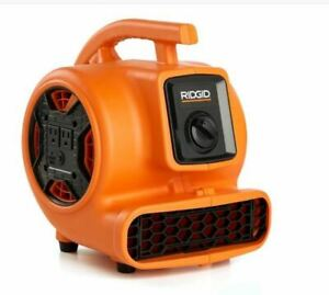 Ridgid 600 Cfm Portable Blower Fan Air Mover With Daisy Chain
