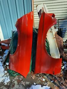 1969 Mustang Boss Mach1 Cobra Jet Fastback Oem Ford Fenders Left And Right