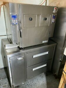 Autofry Mit 40c Double Door Ventless Fryer With Custom Freezer Drawers Ec