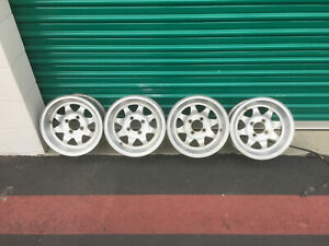 Fiat 124 Spider Pininfarina Coupe X19 131 128 Alloy Mag Wheels Unknown Brand