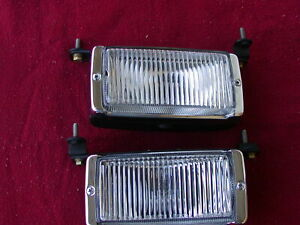 New Mercedes Factory Fog Lights R107 450sl And W116 450sel Chassis