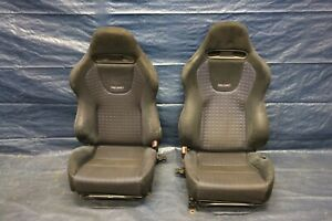 2003 05 Mitsubishi Lancer Evolution 8 Oem Lh Rh Front Seats Damage Ct9a 591