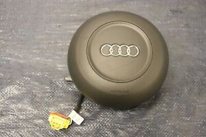 2012 Audi R8 5 2 Quattro Spyder V10 Oem Steering Wheel Center Horn wear 1256