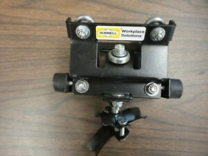 Hubbell Work Solutions Trolley Track Festoon Cable Holder Track Unit N O S