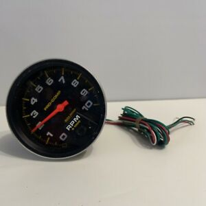Autometer Auto Meter 5 Pro Comp Tachometer 10k Rpm Free Shipping