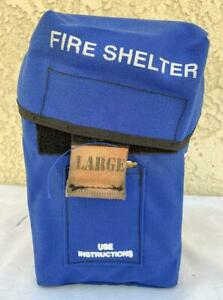 New Generation Forest Wildland Fire Shelter Large Size Mfg Date 2007