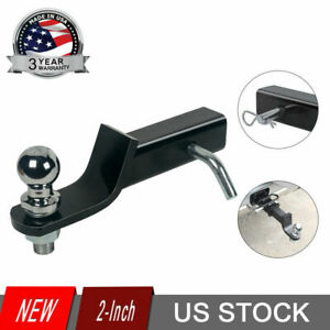 Ball mount 2 Drop Trailer Hitch 2 Ball Fits 2 Receiver Hitc