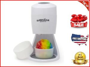 Hawaiian Shaved Ice S900a Shaved Ice And Snow Cone Machine White