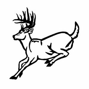 Car Window Decal Truck Outdoor Sticker Buck Deer Hunter Hunting Animal