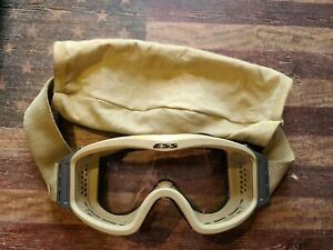 ESS Profile Series Goggles Ballistic Military Tactical Profile NVG VERY GOOD $20.00