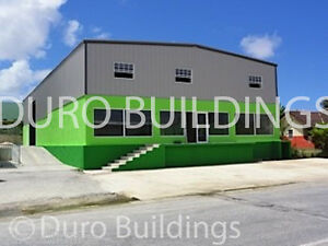 Durobeam Steel 40x66 x14 Metal Garage Prefab Clear Span Building Workshop Direct