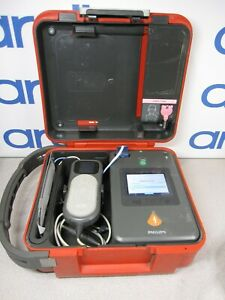 Philips Heartstart Fr3 Aed Bundle 3 year Battery Pads Qcpr Pedi Key Case