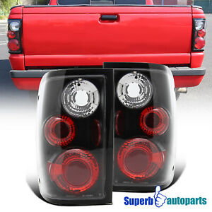 For 2001 2005 Ford Ranger Tail Lights Reverse Brake Lamps Turn Signal Black