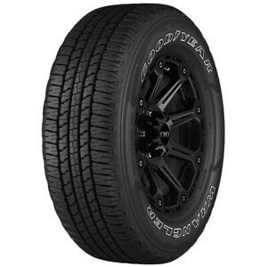 2 245 70r16 Goodyear Wrangler Fortitude Ht 107t Sl 4 Ply Owl Tires
