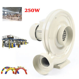 Eapmic Air Exhaust Fan 110v 250w High Pressure Centrifugal Duct Exhaust Blower