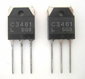 2sc3461 Npn Transistor High Voltage High Speed Switch Nos Great Price 2 lot