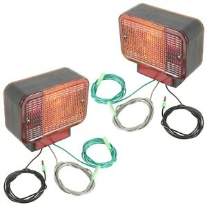 Left And Right Taillight Assembly Fits John Deere 4105 4200 4300 4400 4500 4600