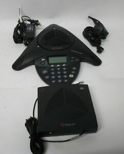 Polycom Soundstation 2w tm Wireless Conference Phone And Base Receiver
