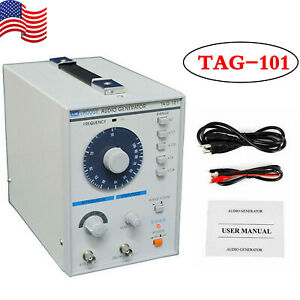 Low Frequency Audio Signal Generator Signal Source 10hz 1mhz Tag 101 110v 5w