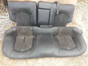 12 Cadillac Cts v Wagon Black Leather Rear Seat