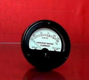 Ideal 72 5007 2 Electrical Frequency Meter For 10kw Generators 6625 01 110 6829