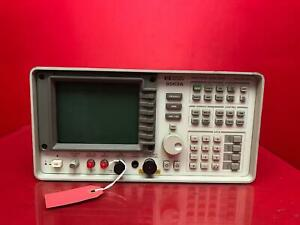 Hp Agilent 8563a Spectrum Analyzer 9 Khz To 26 5ghz For Parts as Is