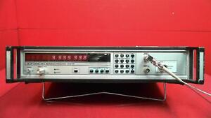 Eip Microwave Model 545a Microwave Frequency Counter