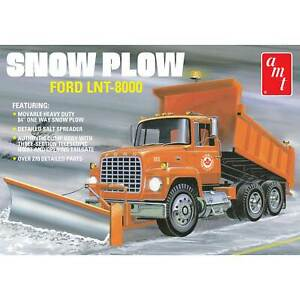 Amt 1 25 Ford Lnt 8000 Snow Plow