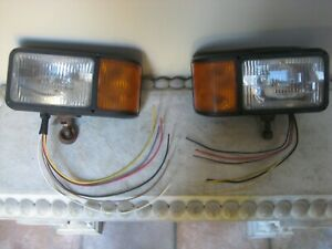 Truck Lite Left And Right Drivers Snow Plow Light Made For Meyer
