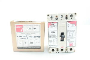 Federal Pioneer Ce3150h Horizon Molded Case Circuit Breaker 3p 150a Amp 600v ac