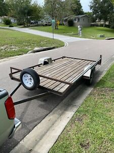 Trailer Great Tires Smooth Riding 13 2 x 6 5