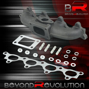 For 1990 1993 Honda Accord F22 F23 Prelude H23 Iron T3 Even Port Turbo Manifold