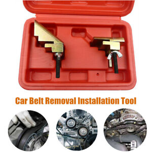 Auxiliary Elastic Stretch Ribbed Pulley Drive Belt Removal Installation Tool Kit