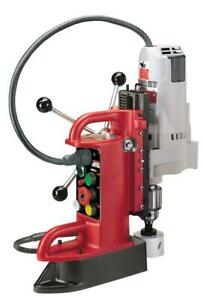 Milwaukee 4210 1 Fixed Position Electromagnetic Drill Press With 3 4 In Moto