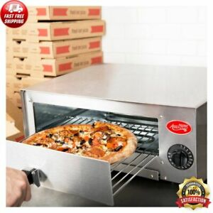 Commercial Home Kitchen Stainless Steel Counter Top Snack Pan Bake Pizza Oven