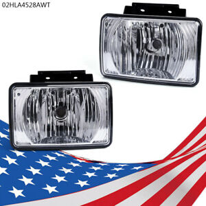 Pair Fog Light Replacement Fit Chevy Colorado Gmc Canyon 04 12 Pickup Bumper