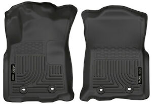 Husky Liners Weatherbeater Front Row Floor Mats For 2018 21 Tacoma Manual Trans