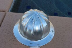 Vintage Superlite By Fibre Metal Aluminum Hard Hat