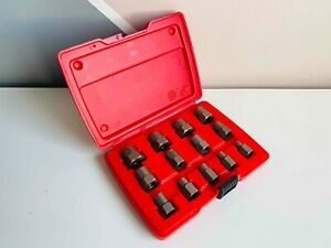 New Snap On 13 Pc Hex Bolt Extractor Set Bex13a