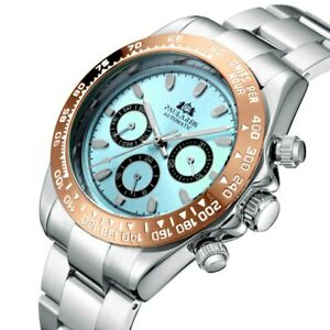 Luxury Homage Daytona Watch Day Date Automatic Mechanical Chronograph Tacho