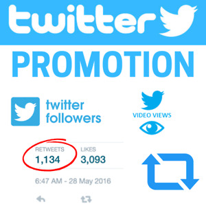 Twitter Shoutout promotion To 100k Audience
