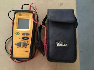 Ideal Digital Insulation Tester 61 795 With Case Free Shipping