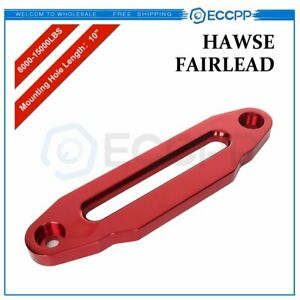 10 Universal Hawse Fairlead 8000lbs 15000lbs Synthetic Winch New