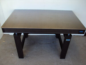 Crated 5 Tmc Optical Table With Micro g Adjustable Height Rigid Bench Set Lab