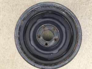 One Gm Best Guess Steel Wheel 5 On 5 15x7 C10 Chevy Truck Impala Wagon