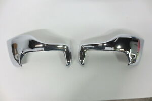 1951 1952 Chevy Bumper Guards Front Wrap Arounds Wing Tips Restored Original