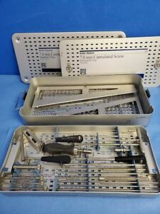 Smith Nephew 7 0mm Cannulated Screw Instrument Tray 7111 9113 Orthopedic