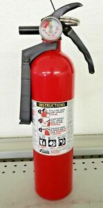 2 5lb Fire Extinguisher Abc Dry Chemical Kidde Disposable 1a10bc