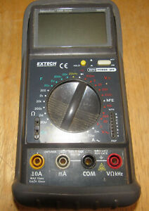 Digital Multimeter Model 380763 Extech Instruments