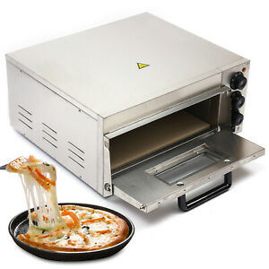 2kw Commercial Electric Pizza Oven Baking Machine Cooking Bread Cake Pastries